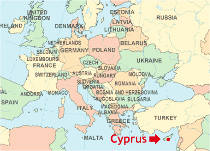 Cypress Europe Map Related Keywords & Suggestions   Cypress Europe